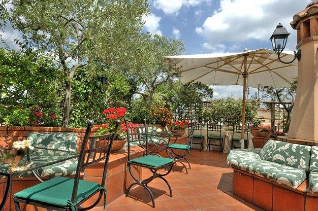 3 daagse stedentrip naar Diana Roof Garden in rome, italie